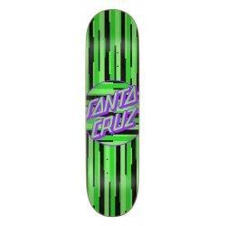Santa Cruz Strip Stripe Dot Skateboard Deck 8.125in x 31in