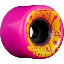OJ Wheels Mini Super Juice Pink Skateboard Wheels - 55mm 78a