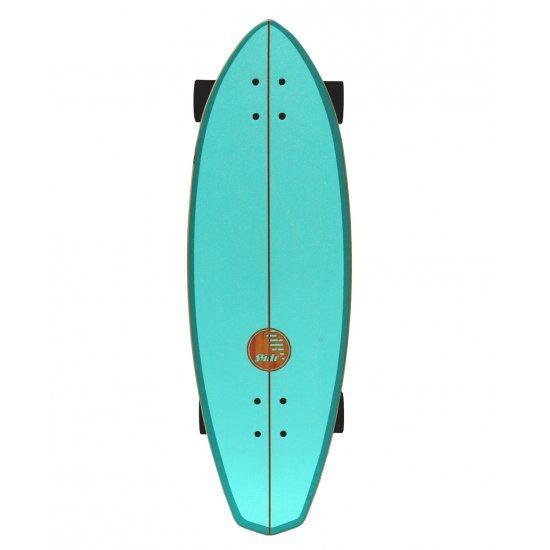 """Slide SurfSkate Board - 32"""" Diamond Belharra Complete"""