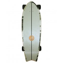 "Slide SurfSkate Board - 32"" Fish Pavones Complete"