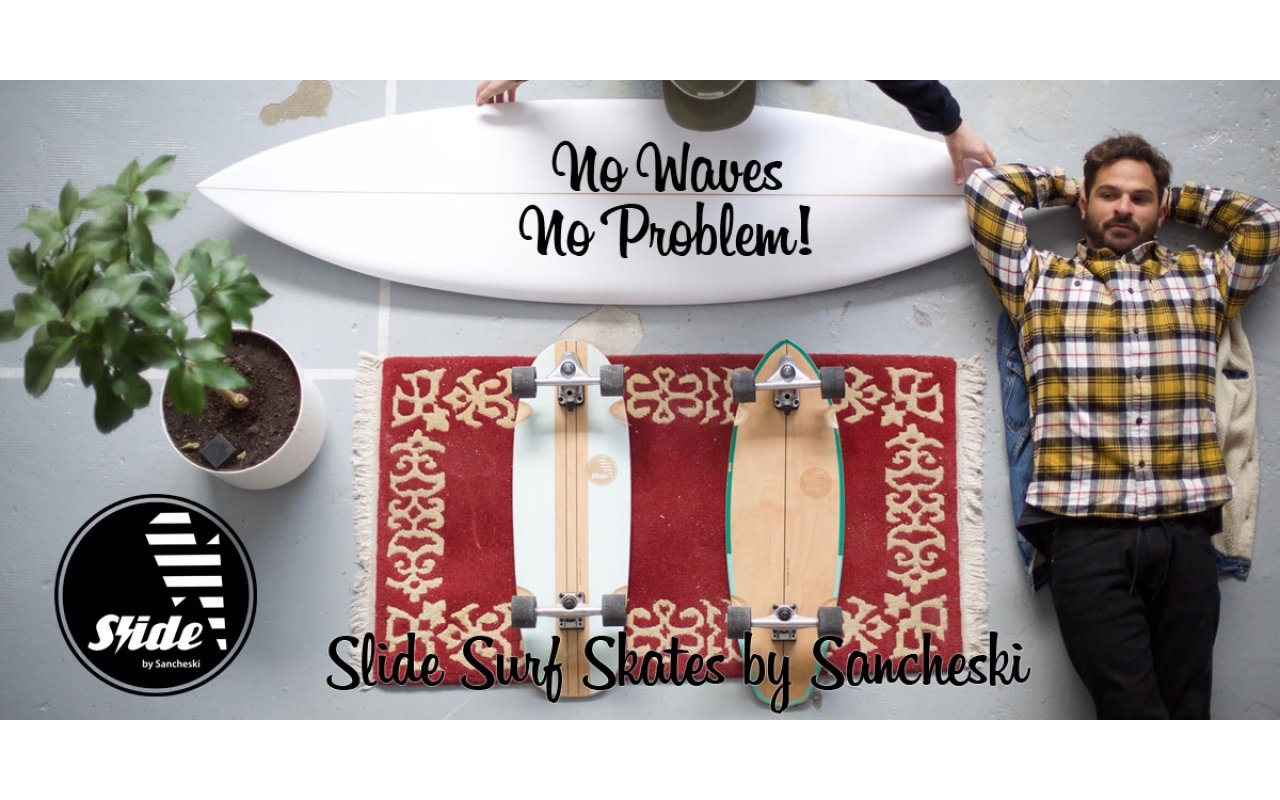Slide Surf Skates