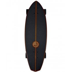 "Slide SurfSkate Board - 32"" Diamond Koa Complete"