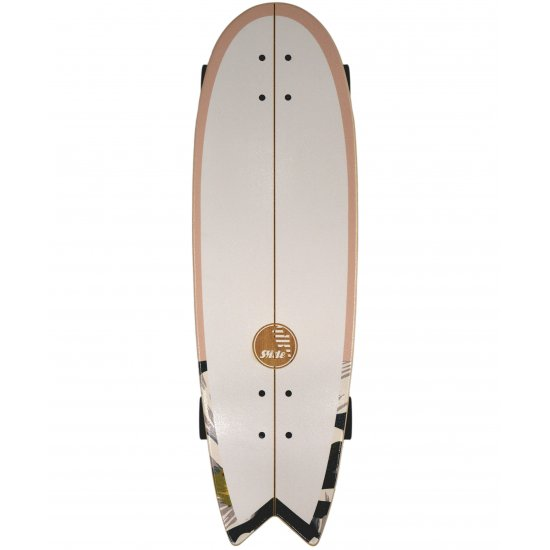 "Slide SurfSkate Board - 33"" Swallow Wahine Complete"