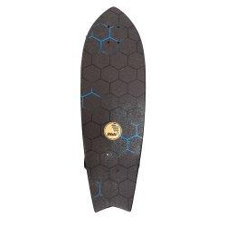 """Slide SurfSkate Board - 32"""" Fish Honey Comb Complete"""