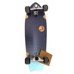 "Slide SurfSkate Board - 32"" Fish Indigo Fade Complete"