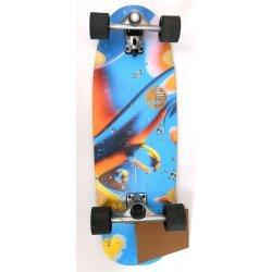 """Slide SurfSkate Board - 31"""" Gussie Psycho Sea Complete"""