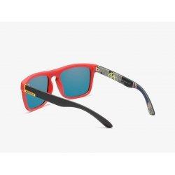 Kdeam Polarized Sunglasses (red/yellow) (แว่นตากันแดด)