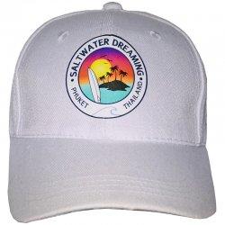 Saltwater Dreaming Cap-white