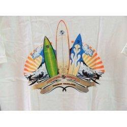 Saltwater Dreaming T-Shirt-surf logo -White