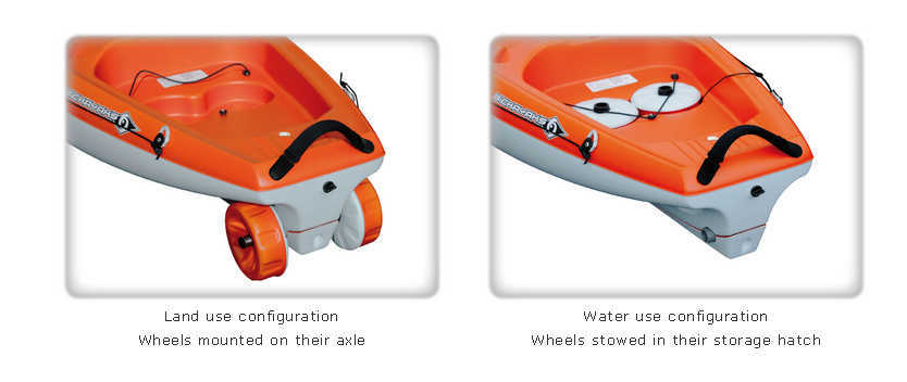 bic kayak borneo wheels